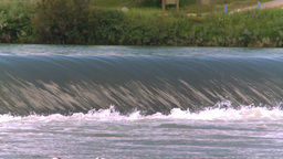 HD2008-7-15-29 weir Stock Video Footage
