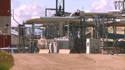 HD2008-7-15-43 gasplant Stock Video Footage
