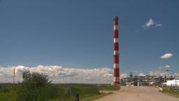 HD2008-7-15-45 gas plant Footage