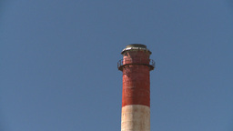 HD2008-7-15-47 gas plant stack Stock Video Footage