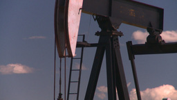 HD2008-7-16-23 pumpjack Stock Video Footage