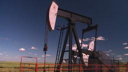 HD2008-7-16-25 pumpjack Stock Video Footage