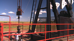 HD2008-7-16-27 pumpjack Footage