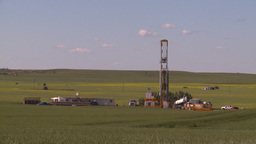 HD2008-7-16-35 drill rig Stock Video Footage