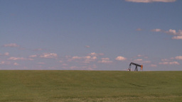 HD2008-7-16-39 pumpjack Stock Video Footage