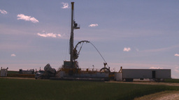 HD2008-7-16-41 drill rig Stock Video Footage