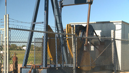 HD2008-7-16-71 pumpjack Stock Video Footage