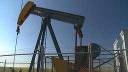 HD2008-7-16-73 pumpjack Stock Video Footage