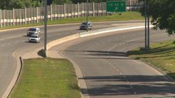 HD2008-7-17-25 blvd traffic Stock Video Footage
