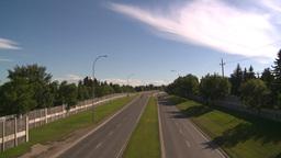 HD2008-7-17-29 blvd traffic Stock Video Footage