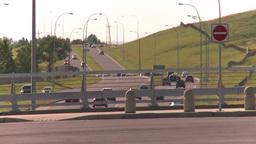 HD2008-7-17-33 blvd traffic and bridge Footage