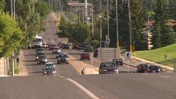 HD2008-7-17-35 street traffic Stock Video Footage