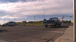 HD2008-7-17-37 street traffic Stock Video Footage