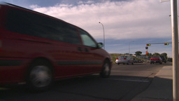 HD2008-7-17-39 street traffic Stock Video Footage