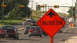 HD2008-7-17-41 construction street traffic Footage