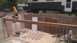 HD2008-6-1-8 House move Stock Video Footage