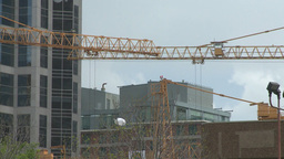 HD2008-6-1-40 construction cranes Stock Video Footage