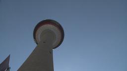 HD2008-6-2-6 Calgary tower hi tilt Stock Video Footage