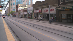 HD2008-6-2-14 LRT train Stock Video Footage