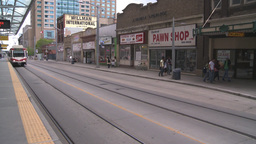 HD2008-6-2-14 LRT train Stock Video Footage