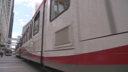 HD2008-6-2-18 LRT train Stock Video Footage