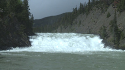 HD2008-6-2-32 bow falls Stock Video Footage
