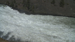 HD2008-6-2-34 bow falls Stock Video Footage