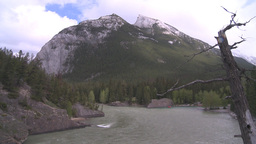 HD2008-6-2-38 bow river mtn Stock Video Footage
