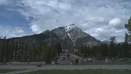 HD2008-6-2-40 Banff town iconic Footage