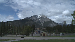 HD2008-6-2-40 Banff town iconic Stock Video Footage