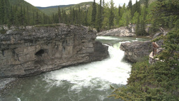 HD2008-6-3-1 Elbow falls Stock Video Footage
