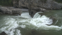 HD2008-6-3-11 Elbow falls Stock Video Footage