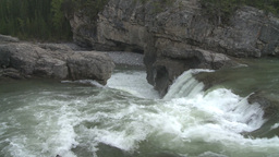 HD2008-6-3-13 Elbow falls Stock Video Footage