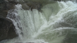 HD2008-6-3-17 Elbow falls Stock Video Footage
