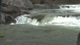 HD2008-6-3-21 Elbow falls Stock Video Footage