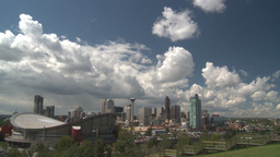 HD2008-6-4-17 calgary skyline scotsman hill ICON Footage