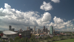 HD2008-6-4-17 calgary skyline scotsman hill ICON Stock Video Footage