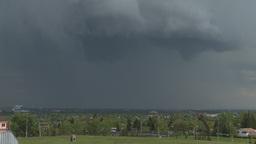 HD2008-6-4-31 departing tstorm TL Stock Video Footage