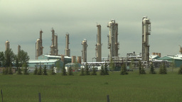 HD2008-6-5-4 gas plant Z in Stock Video Footage