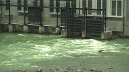 HD2008-6-5-24 ghost dam Z Stock Video Footage