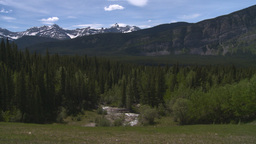 HD2008-6-5-34 mountains strem forest Stock Video Footage