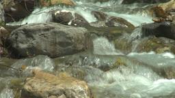 HD2008-6-5-40 mountain stream Stock Video Footage