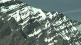 HD2008-6-5-42 Snowy Mountain Range stock footage