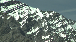 HD2008-6-5-42 snowy mountain range Stock Video Footage
