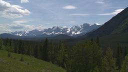 HD2008-6-5-44 snowy mountain range Stock Video Footage