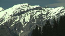 HD2008-6-5-50 snowy mtn Stock Video Footage