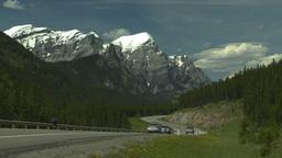 HD2008-6-5-58 twisty mtn highway Stock Video Footage