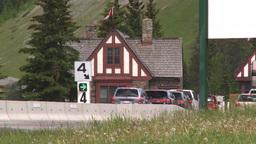 HD2008-6-6-3 Banff gates traffic Stock Video Footage