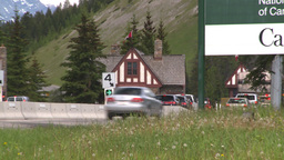 HD2008-6-6-3 Banff gates traffic Footage