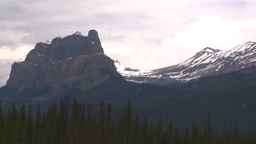 HD2008-6-6-7 Banff Castle mtn Stock Video Footage